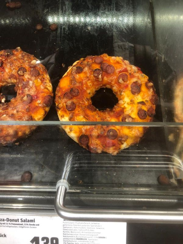 Donuts pizza, Germania