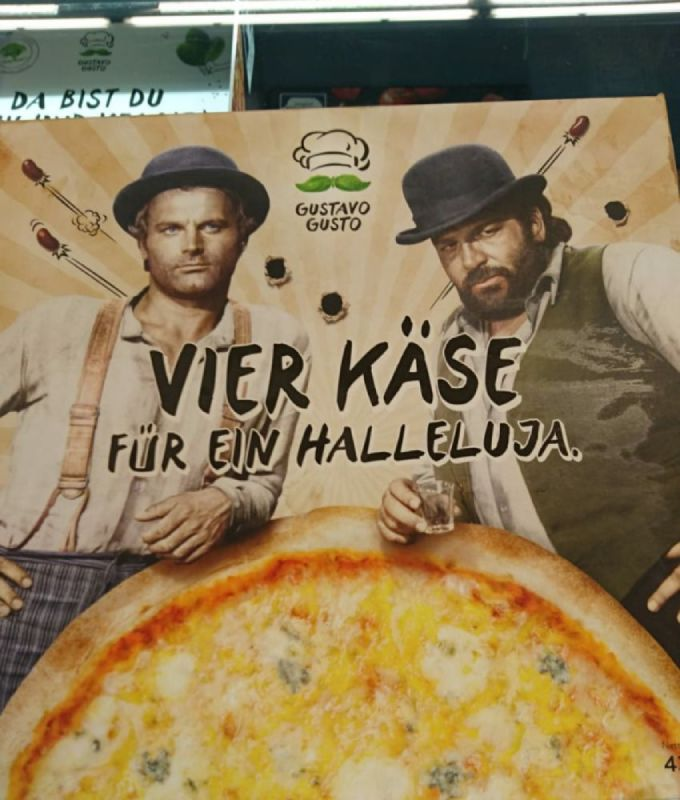 Pizza Bud Spencer Terence Hill, Germania