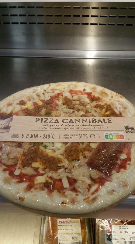 Pizza cannibale, Belgio