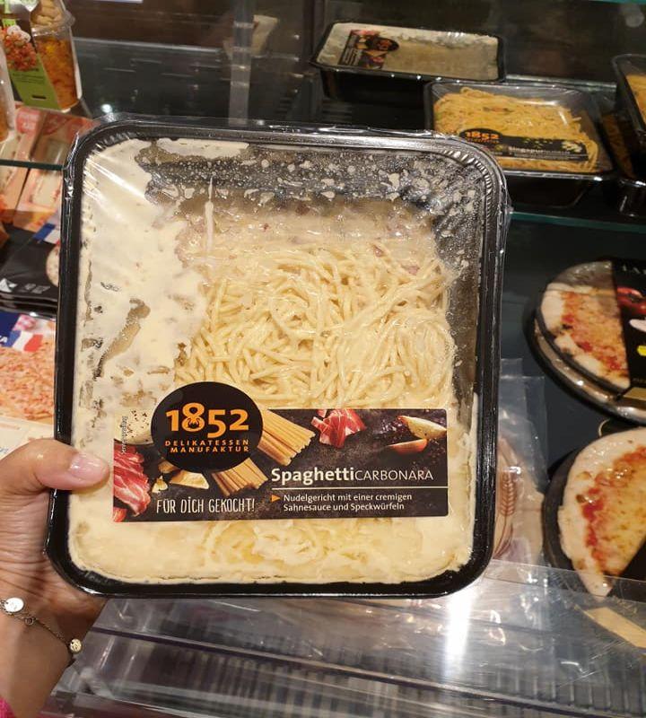 Spaghetti alla carbonara, Germania