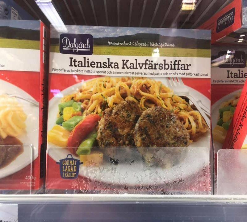 Spaghetti con hamburger, Svezia
