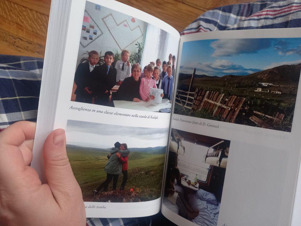 Inserto con fotografie del libro Lungo la Transiberiana da Mosca a Vladivostok di Anna Roberti