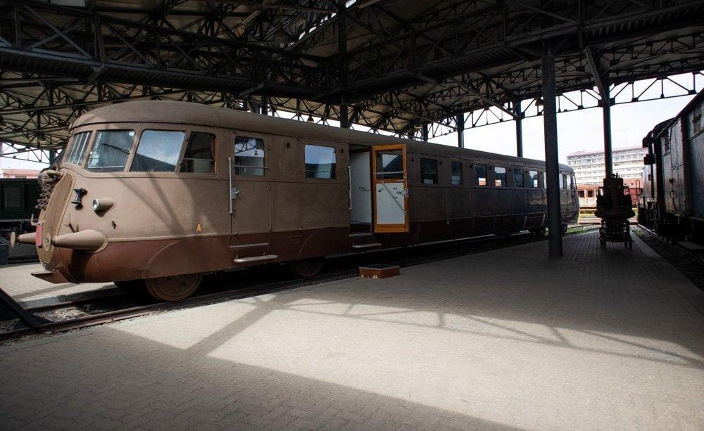 Automotrice Diesel FIAT ALn 776.1001 al Museo Ferroviario Piemontese di Savigliano