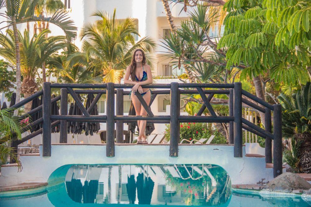 Elisabetta Frega di Free soul on the road nel resort di Tenerife