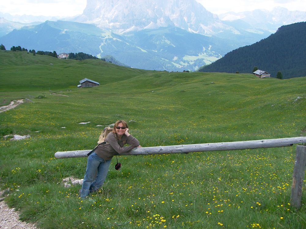 Debora di Riparto da un viaggio in Alto Adige