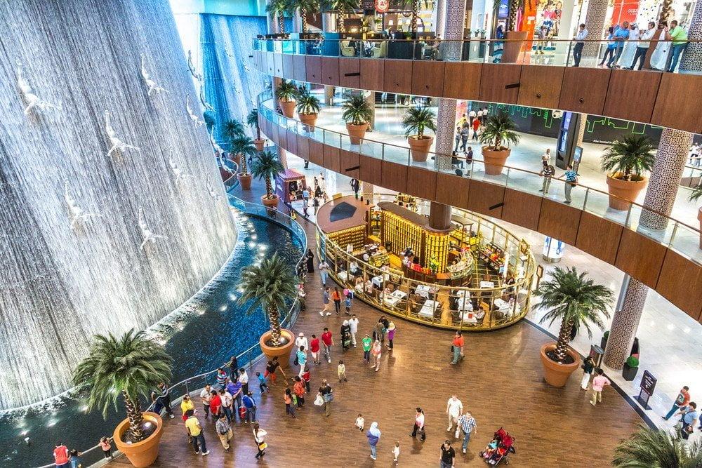 Interno del Dubai Mall
