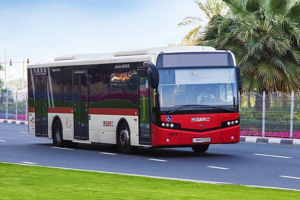 Bus a Dubai