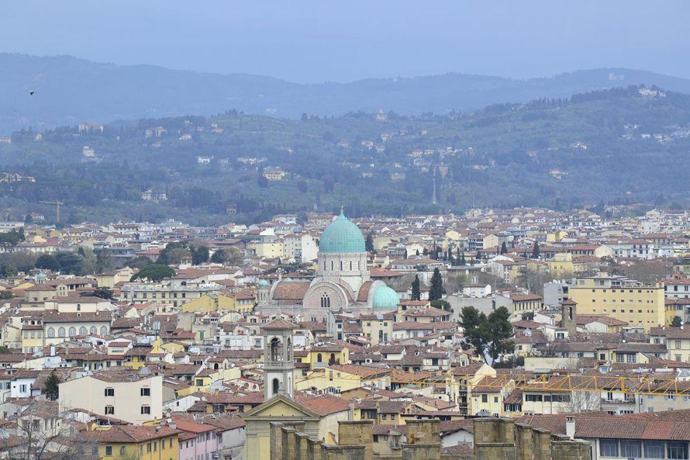 Piazzale Michelangelo a Firenze, foto di Mariarita Persichetti, 24 hours trotter