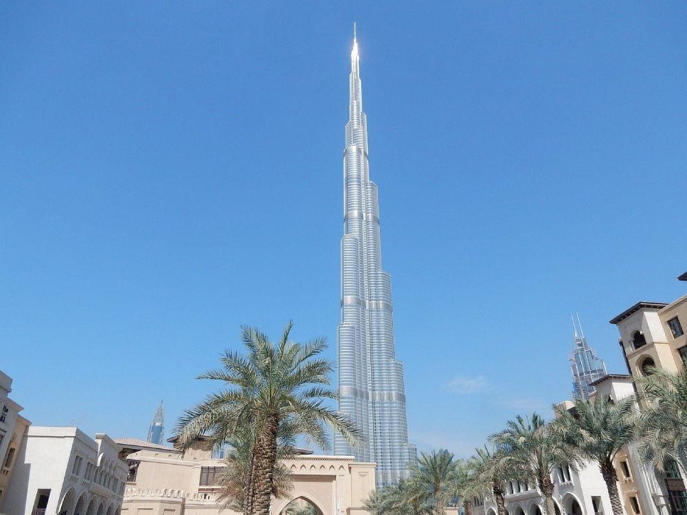 Burj Khalifa a Dubai, foto di Michael Schwinge