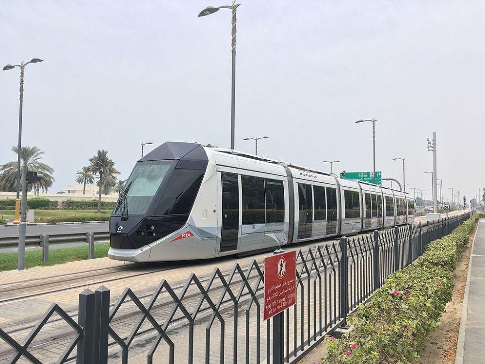 Tram di Dubai