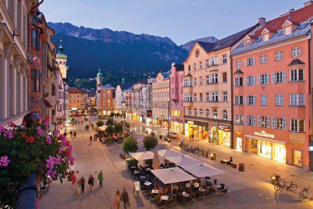 Maria Theresien Straße a Innsbruck, foto di Innsbruck Tourismus / Christof Lackner