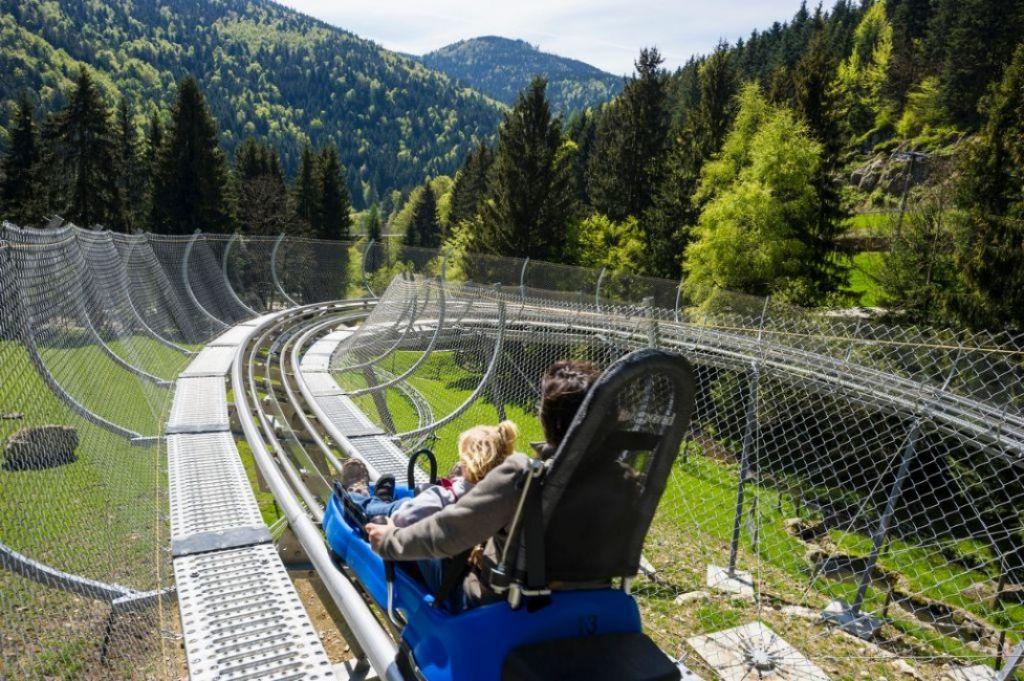 L'alpine coaster dello Steinwasen Park in Germania