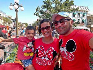 William, Alessia e Stefano di Una valigia di emozioni a Disneyland