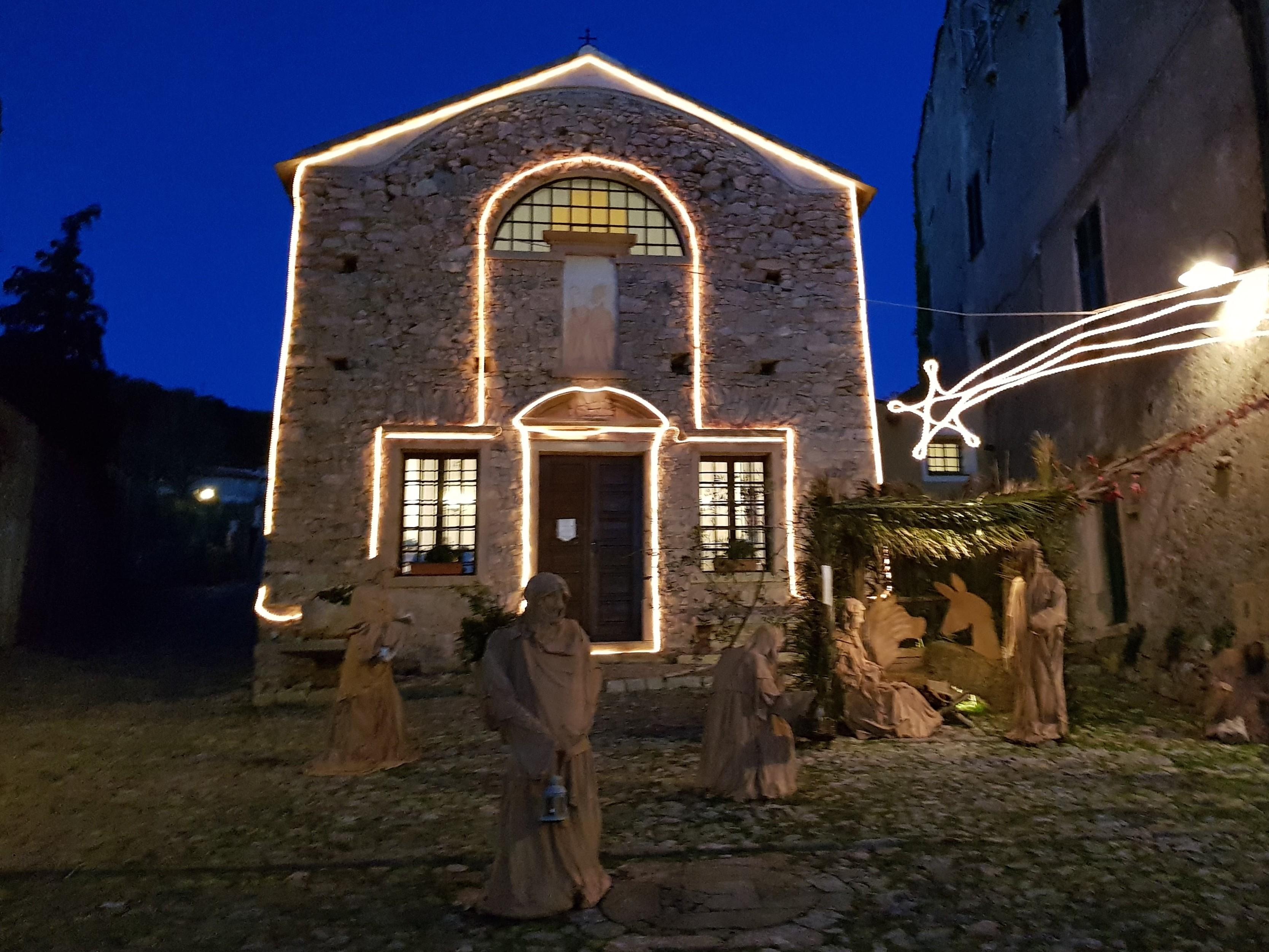Natale a Borgio Verezzi, in Liguria