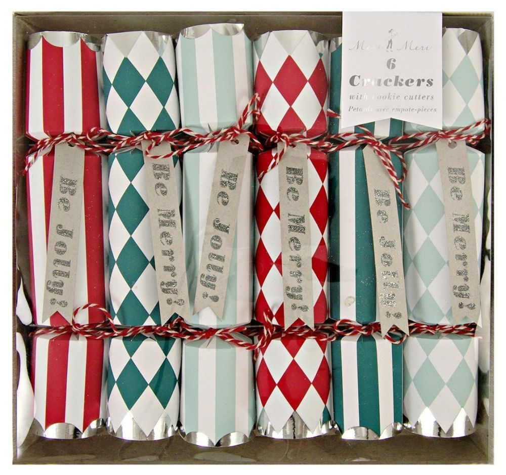 Confezione di Christmas crackers