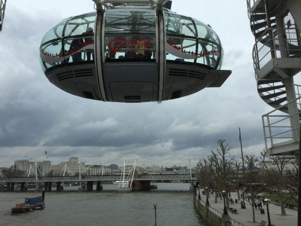 Esterno cabina London Eye