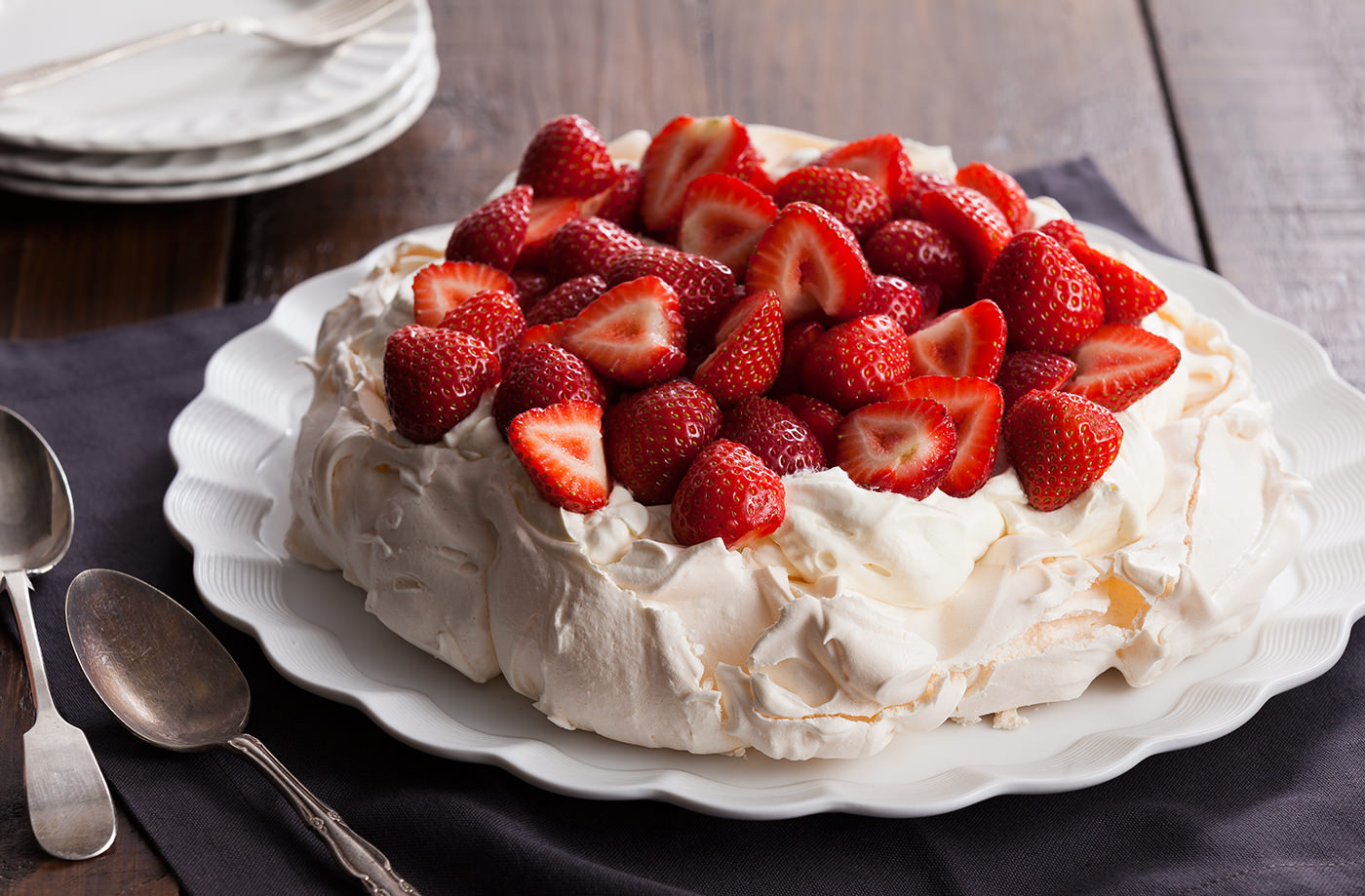 Fruit Pavlova di Tesco