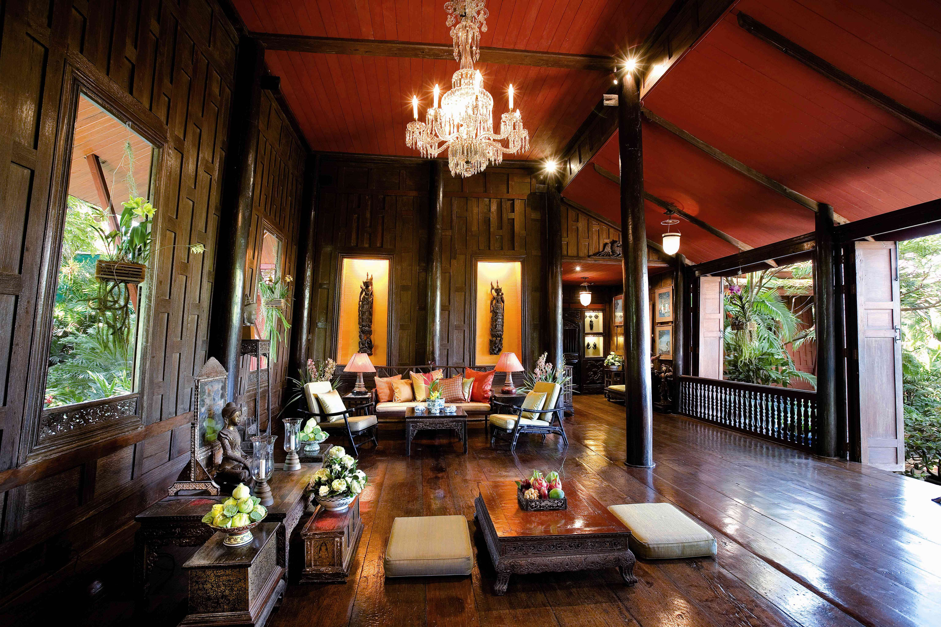 Interno della Jim Thompson House