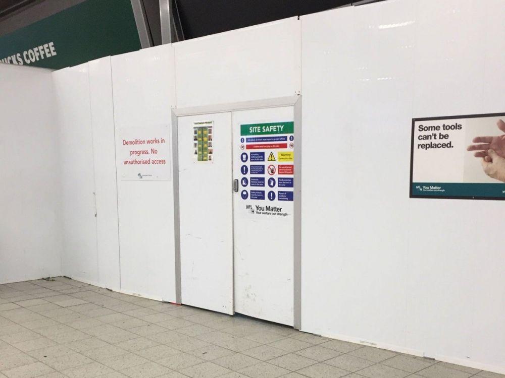 I lavori in corso eterni all'aeroporto di Londra Luton