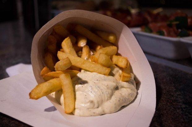 Patatine fritte da Maison Antoine a Bruxelles