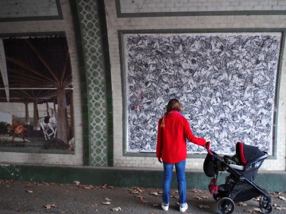 Shit Art Fair, poster di Robocoop e SDOLZ