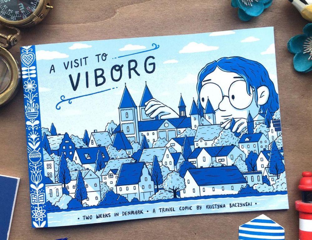 Fumetto di viaggio A Visit To Viborg