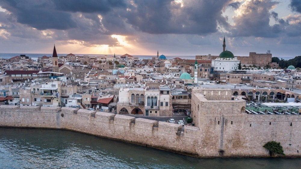 La città di Akko in Israele, foto di Alexander Bobrov da Pexels