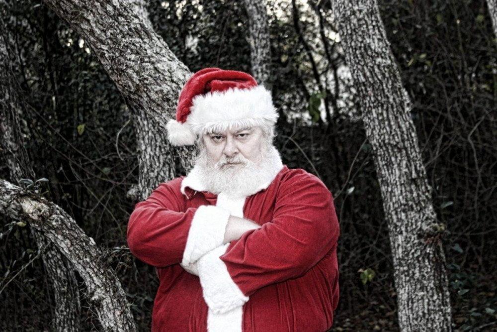 Babbo Natale arrabbiato, crediti Richard Elzey