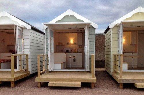 Beach hut, capanna sulla spiaggia per glamping