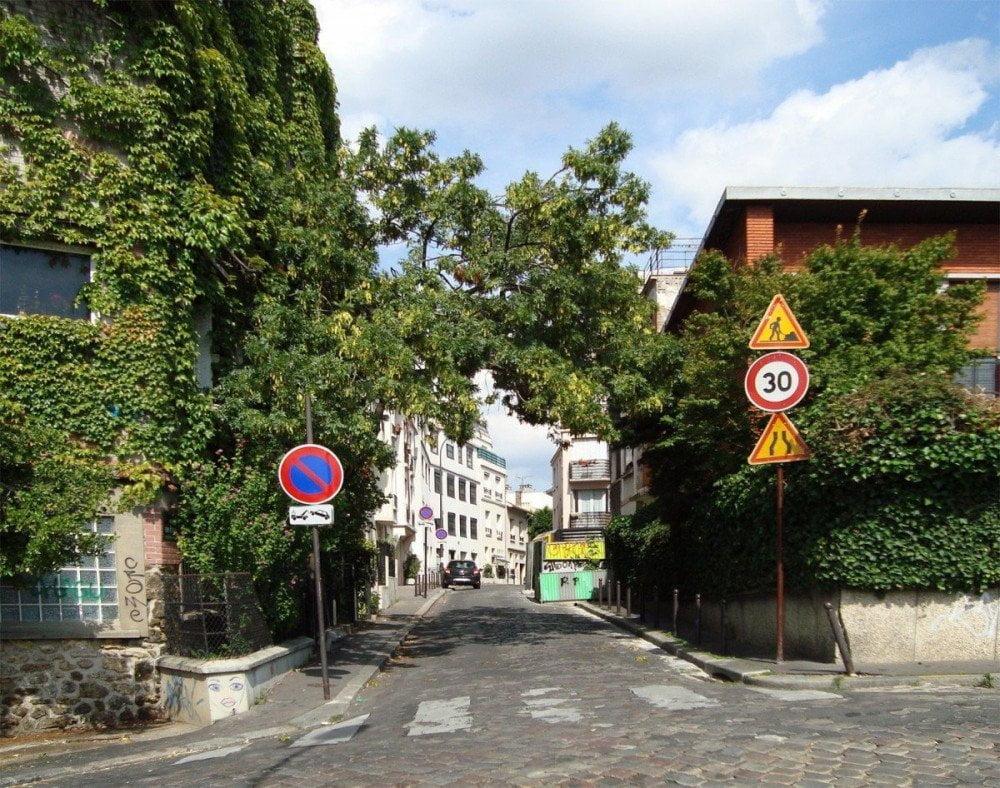 Il quartiere Belleville di Parigi