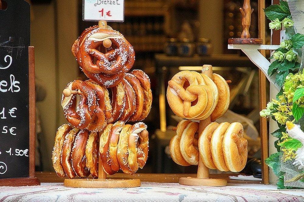 Bretzel tedeschi da assaggiare a Monaco di Baviera