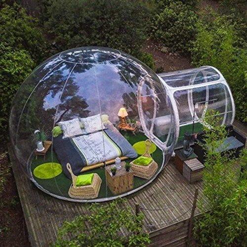 Tenda a bolla trasparente bubble tent