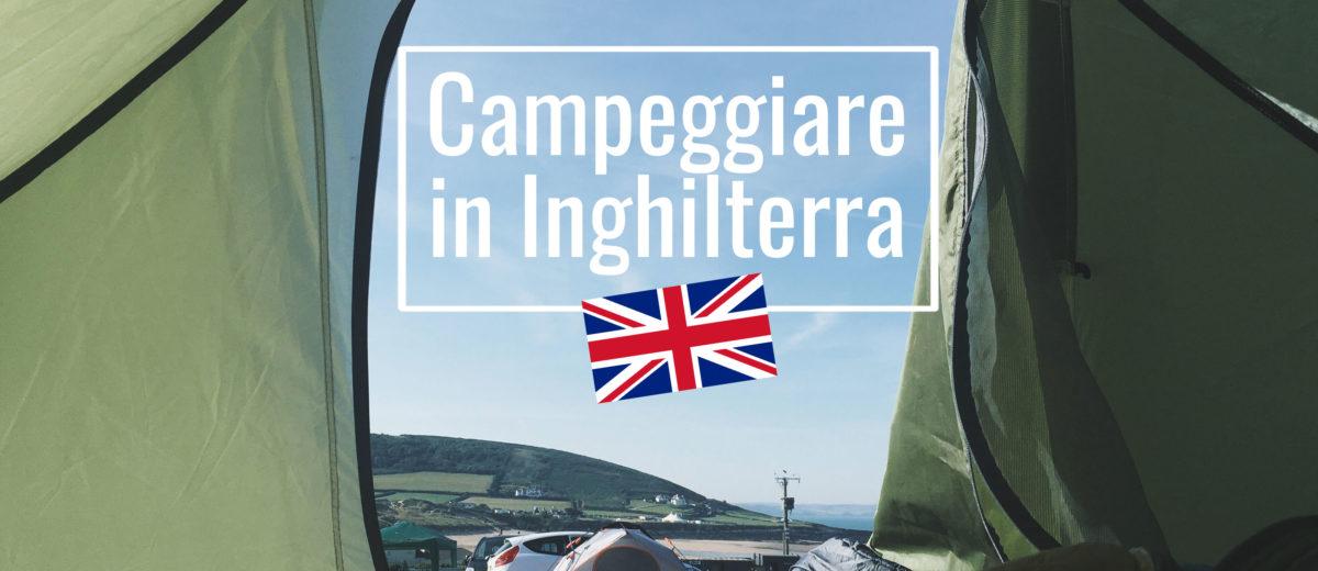 Campeggiare in Inghilterra