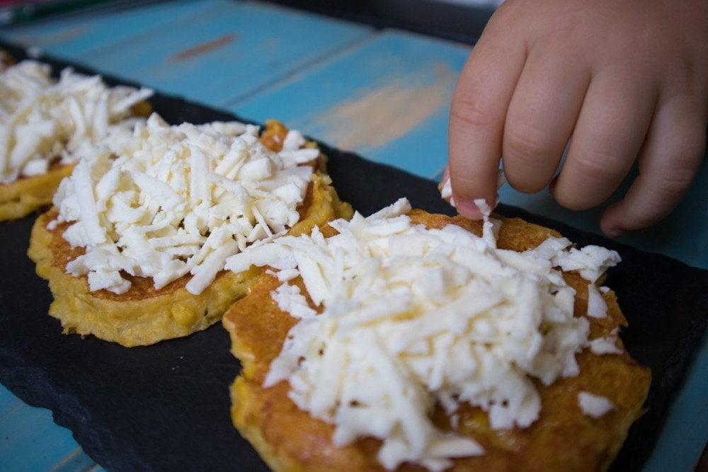 Cachapas al formaggio al Caribbean Bistrot di Torino