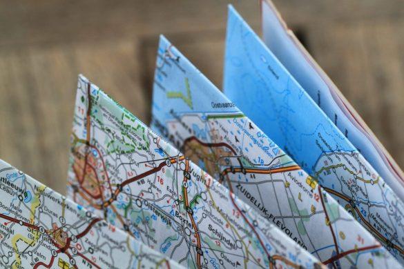 Cartina pieghevole