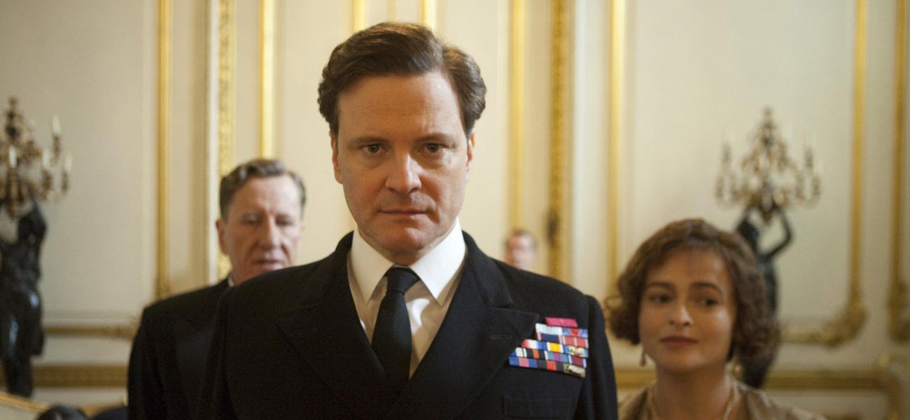 Colin Firth in Il discorso del re