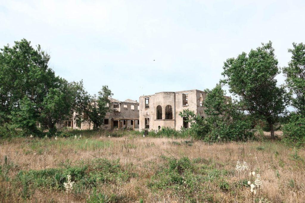 Colonia marina Firenze di Calambrone abbandonata