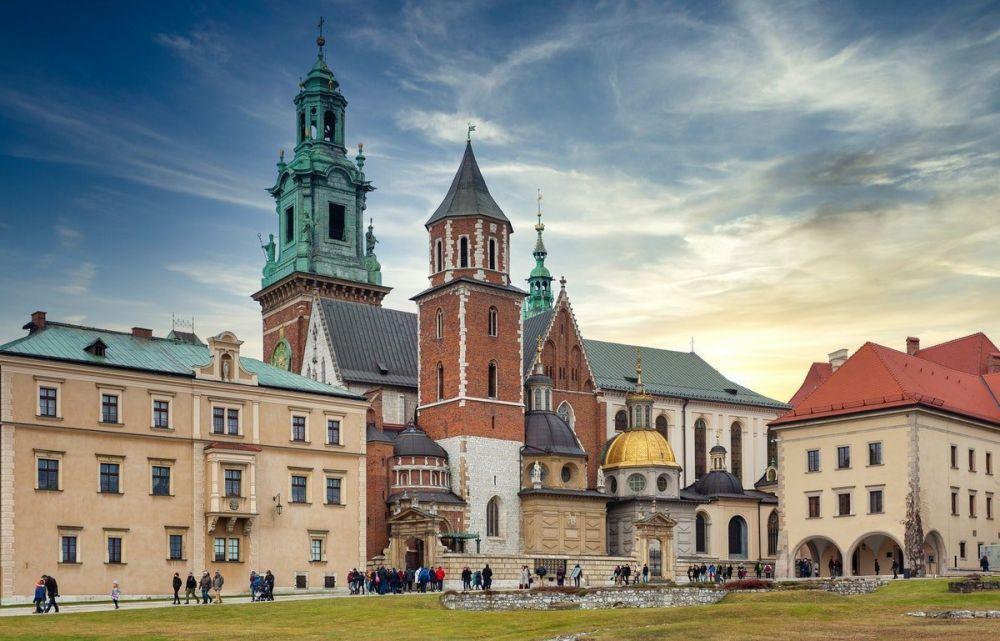La città di Cracovia, foto di Robert Stokoe