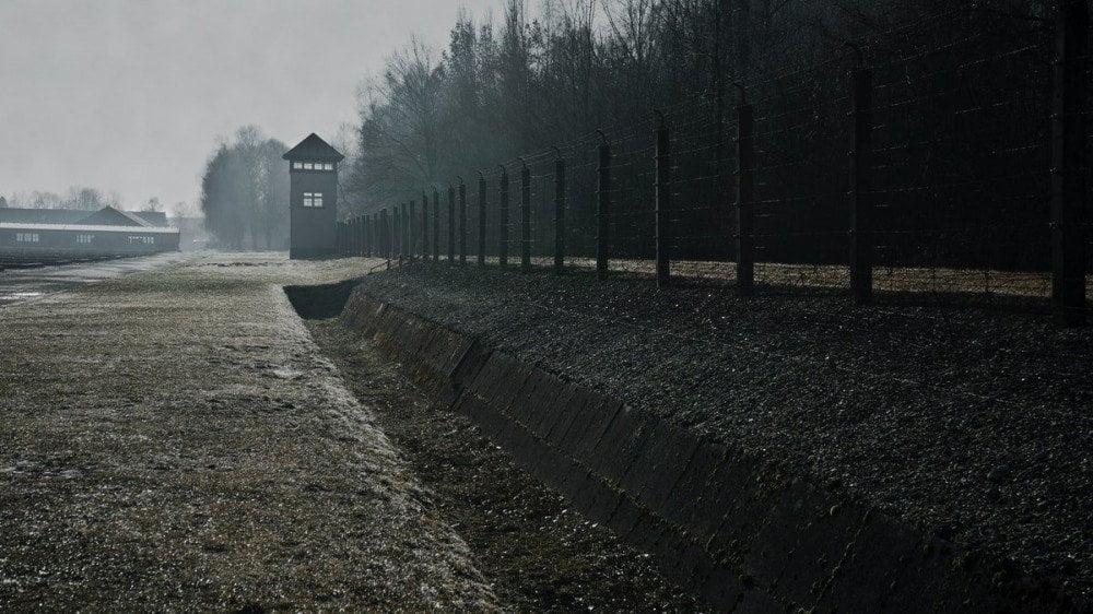 Vista sul campo di concentramento di Dachau, foto Robert Schrader