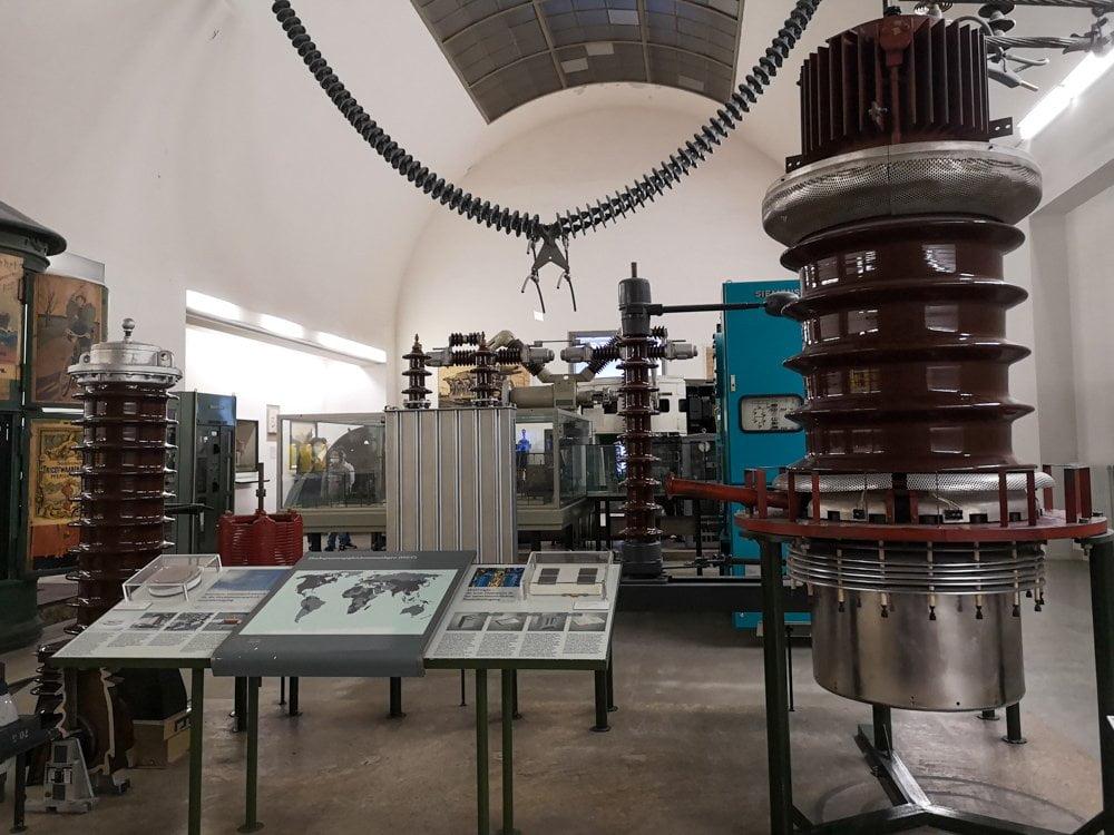 Esposizione sull'energia elettrica al Deutsches Museum di Monaco di Baviera