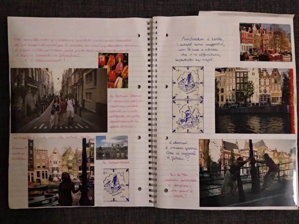 Diario di viaggio Interrail Amsterdam