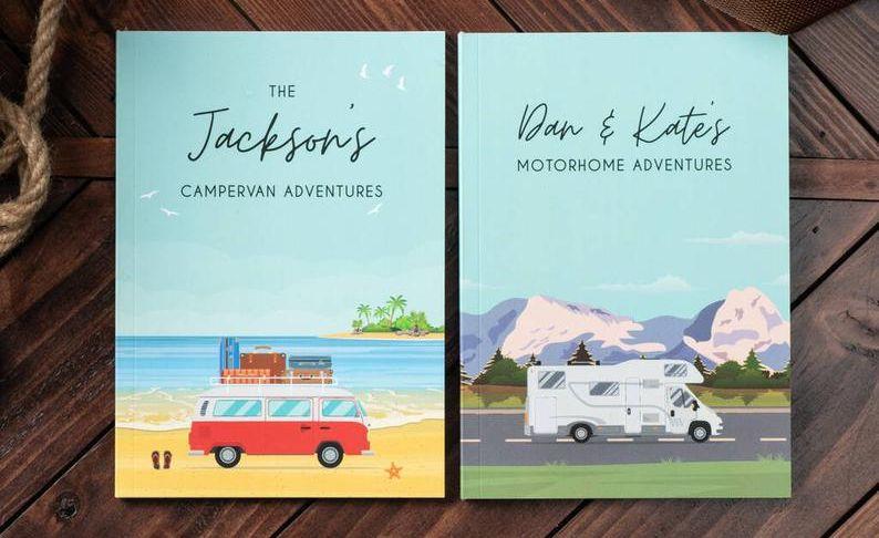 Diario di viaggio in camper personalizzato