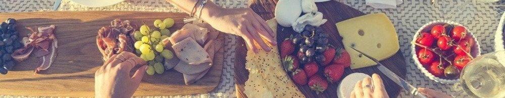 Stuzzichini da mangiare come antipasto