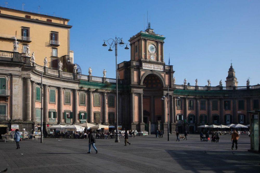 Il Foro Carolino di Napoli