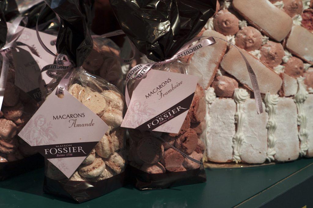 I deliziosi biscotti rosa di Fossier, tipici di Reims