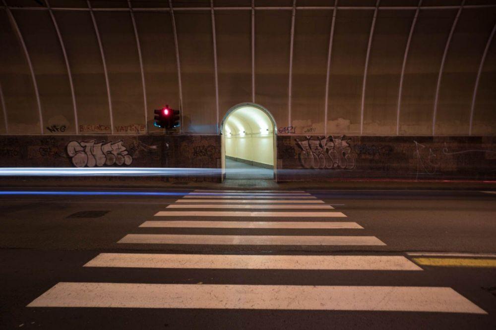 Tunnel Garibaldi dell'ascensore Castelletto Ponente a Genova