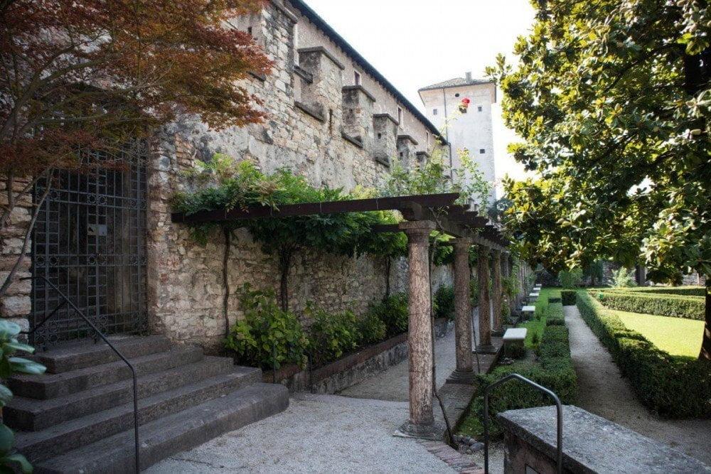 Giardino del Castello del Buonconsiglio di Trento