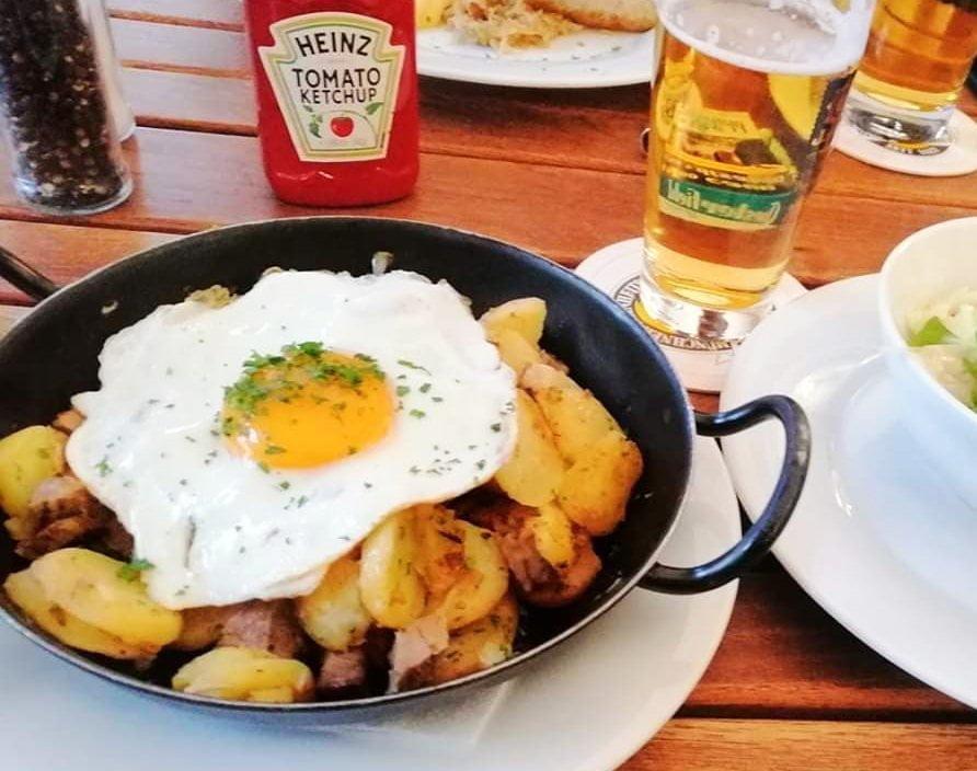 Tiroler Gröstl a Innsbruck