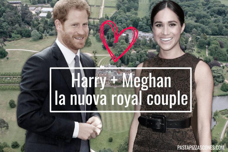 Meghan e Harry la prossima coppia reale