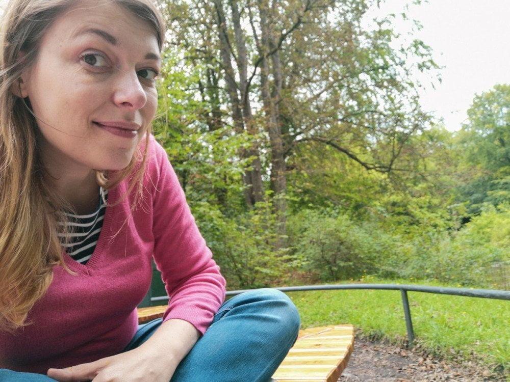 Paola Bertoni all'Hellabrunn Tierpark di Monaco di Baviera